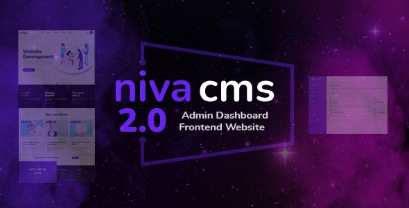 Niva - Multipurpose Website CMS & Business Agency Management System - CodeCanyon Item for Sale