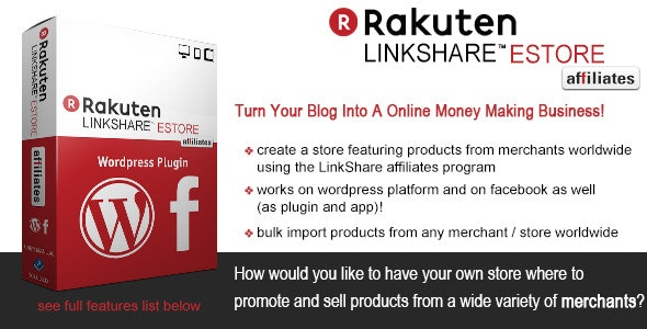 LinkShare eStore Affiliates Plugin - CodeCanyon Item for Sale