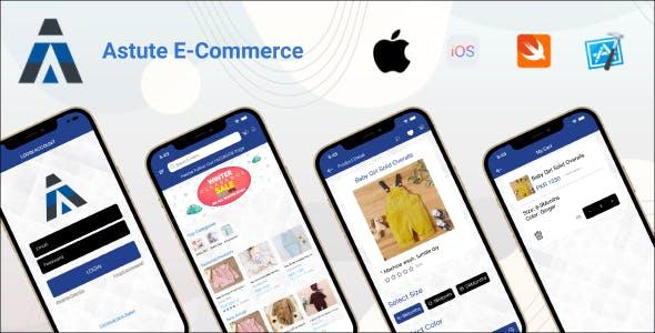 Astute E-Commerce | iOS Full Application