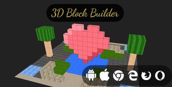3D Block Builder - Cross Platform Creative Builder Game