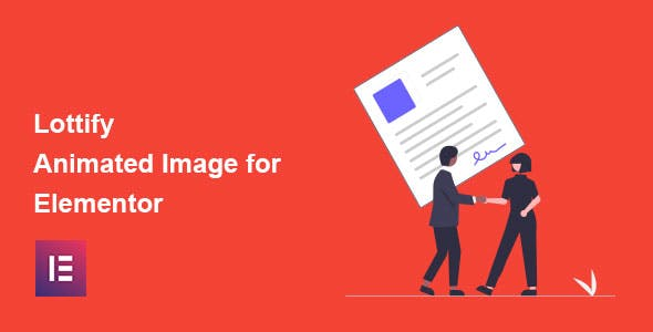 Lottify - Lottie Animated Image Addon For Elementor Page Builder