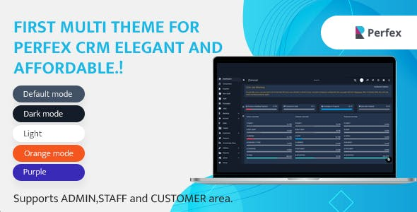 Multi Theme for Perfex CRM