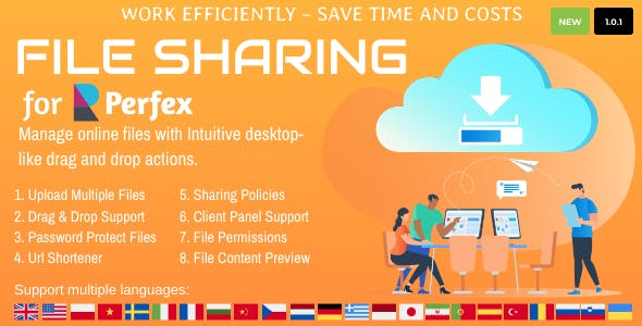 File Sharing for Perfex CRM