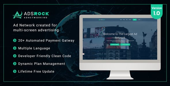 AdsRock - Ads Network & Digital Marketing Platform