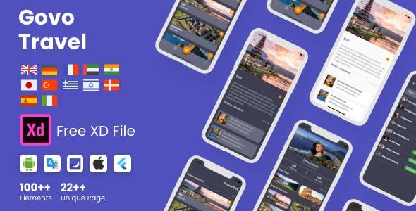 Flutter Govo Travel App in Flutter
