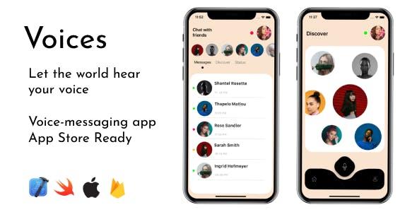 Voices - iOS Voice Chat App