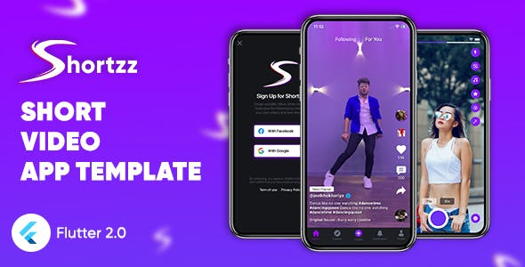 Shortzz : Short Video App Template Flutter | Android | iOS | Tiktok Clone Template