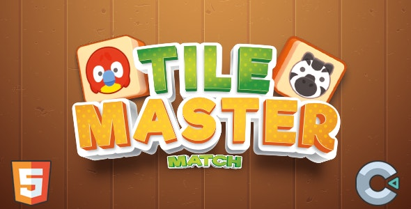 Tile Master Match (HTML5 Game - Construct 3) - CodeCanyon Item for Sale