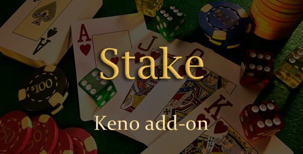 Keno Add-on for Stake Casino Gaming Platform