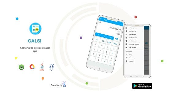 Calsi all in one Calculator Andrid App with admob ads