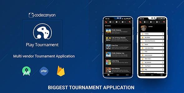 Play tournament - Biggest multi vendor eSports platform