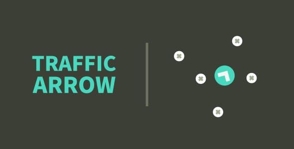 Traffic Arrow | HTML5 | CONSTRUCT 3