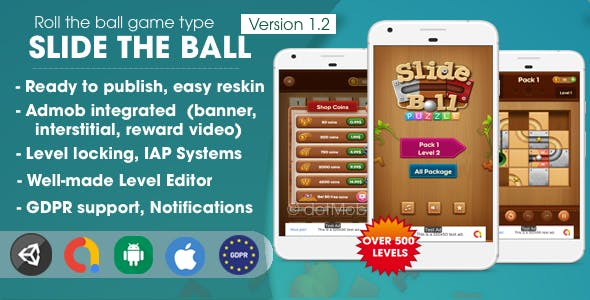 Slide The Ball - Unity Template Project
