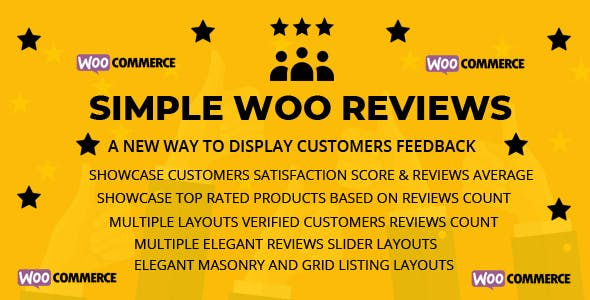 Simple Woo Reviews