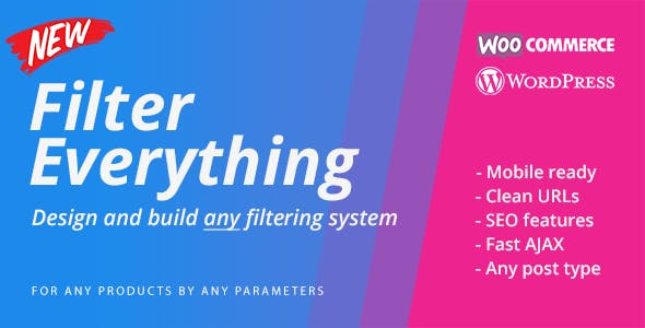 Filter Everything — WordPress & WooCommerce Filter