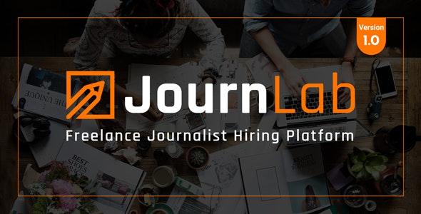 JournLab - Freelance Journalist Hiring platform - CodeCanyon Item for Sale