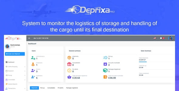 Courier Deprixa Pro - Courier System  Solutions v5.5.2 - CodeCanyon Item for Sale
