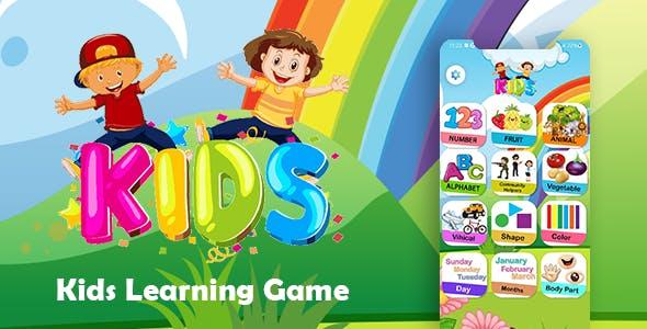 Preschool Kids learning game - Best Kids Pre School Learning Game -Educational App