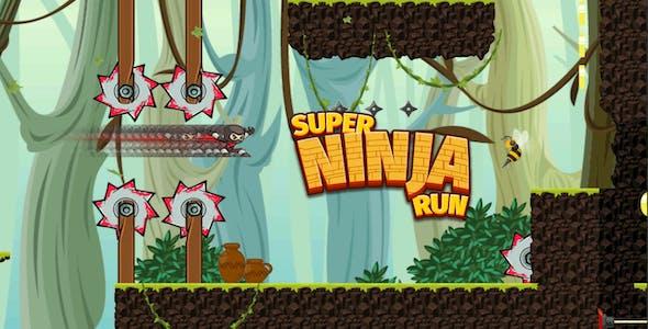 Super Ninja Run Hell Escape -  Complete Unity Game