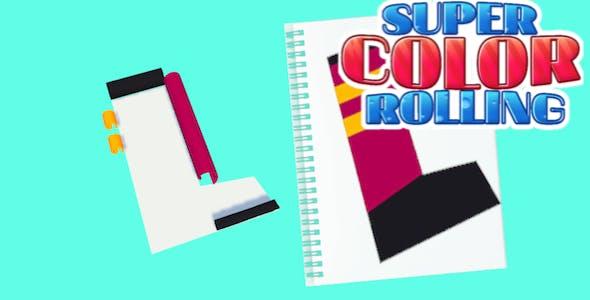 Super Color Rolling 3d Puzzle - Complete Unity Template