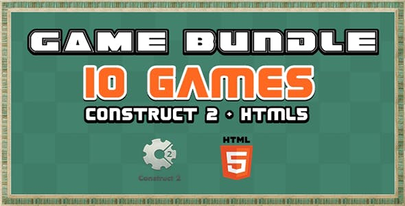 Game Bundle S1 - 10 Construct 2 and Html5 Game