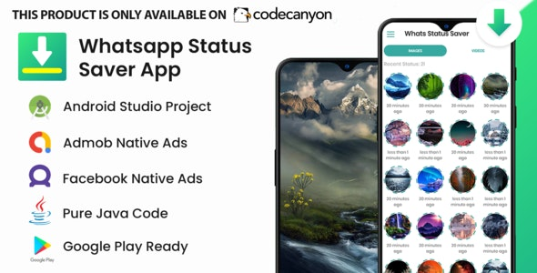 Whatsapp Status Saver & WhatsApp Business - CodeCanyon Item for Sale