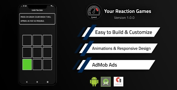 Your Reaction Games - Are You Fast? - CodeCanyon Item for Sale