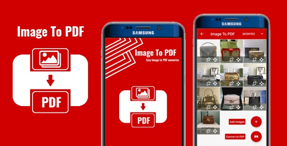 IMAGE To PDF Converter -Convert Your Images to PDF - CodeCanyon Item for Sale