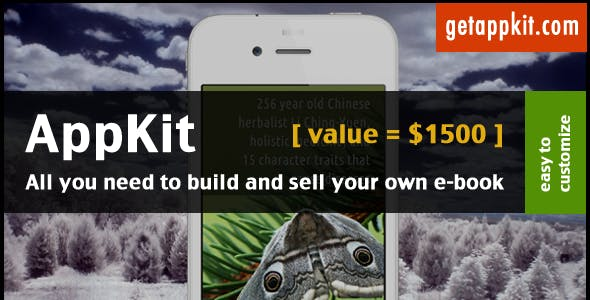 AppKit - E-Book Template for iPhone / iPad