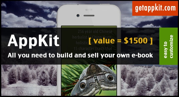 AppKit - E-Book Template for iPhone / iPad - CodeCanyon Item for Sale