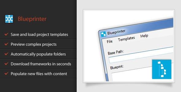 Blueprinter - CodeCanyon Item for Sale