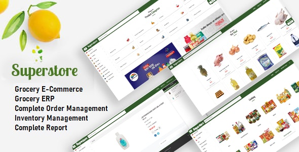 Superstore - Grocery Store + Super Shop Management - CodeCanyon Item for Sale