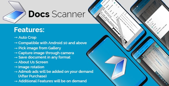 Smart Documents Scanner App - CodeCanyon Item for Sale