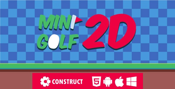 Mini Golf 2D - HTML5 Mobile Game - CodeCanyon Item for Sale