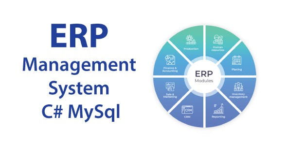 Total ERP desktop application | software with full project & source code