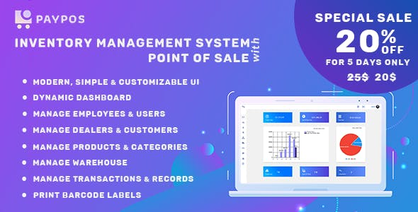Pay POS - Sales and Inventory Management System