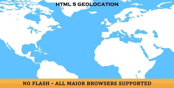 HTML5 3D Geolocation