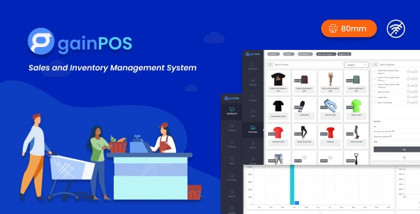 Gain POS - Inventory and Sales Management System - CodeCanyon Item for Sale