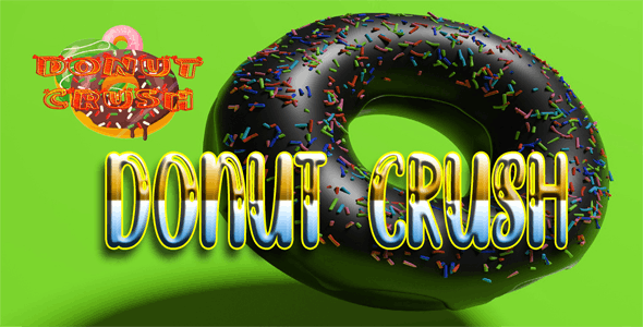 Donut Crush With Admob Earning Integration