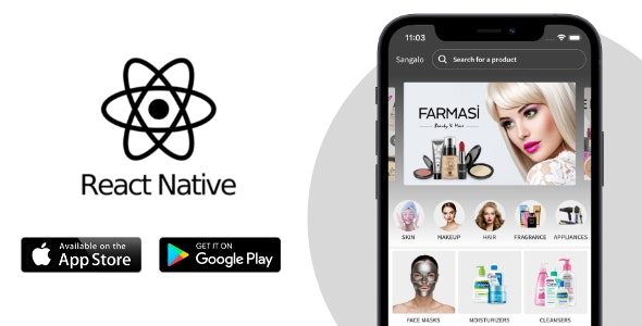React Native E-commerce App Theme - CodeCanyon Item for Sale