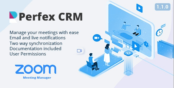 Zoom Meeting Manager - CodeCanyon Item for Sale