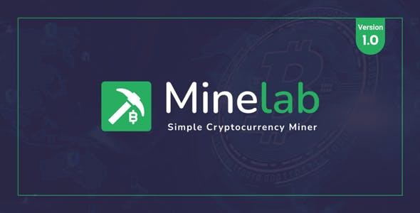 MineLab - Cloud Crypto Mining Platform