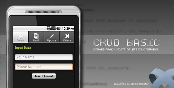 Titanium CRUD Basic - CodeCanyon Item for Sale