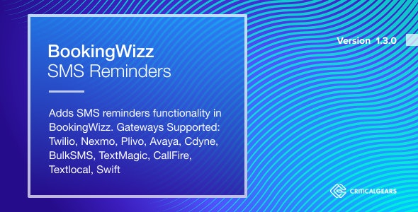 BookingWizz SMS Reminders - CodeCanyon Item for Sale