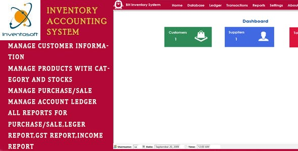 BH Inventory and Account Management System