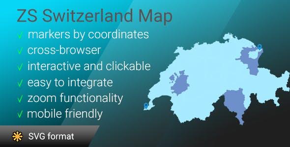 ZS Switzerland map