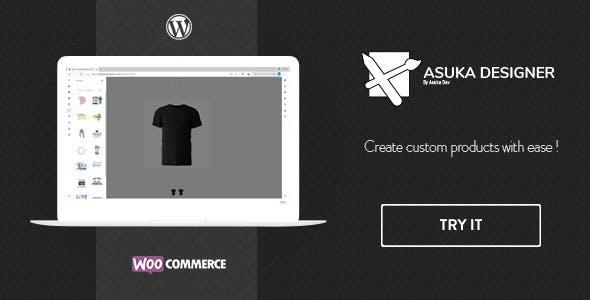 Asuka product designer - WooCommerce