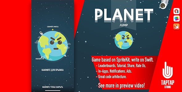 Planet Jump - CodeCanyon Item for Sale