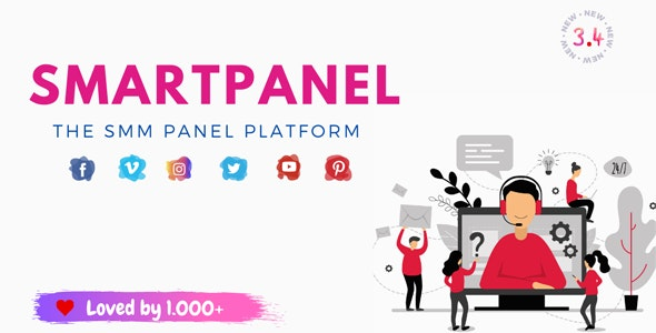 SmartPanel - SMM Panel Script - CodeCanyon Item for Sale