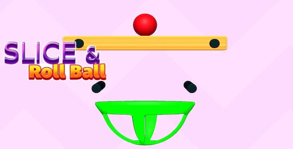 Slice & Roll Ball Puzzle Game - Complete Unity Game
